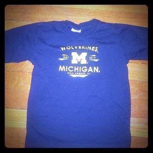 Boys Michigan shirt